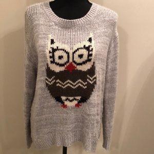Rewind owl sweater